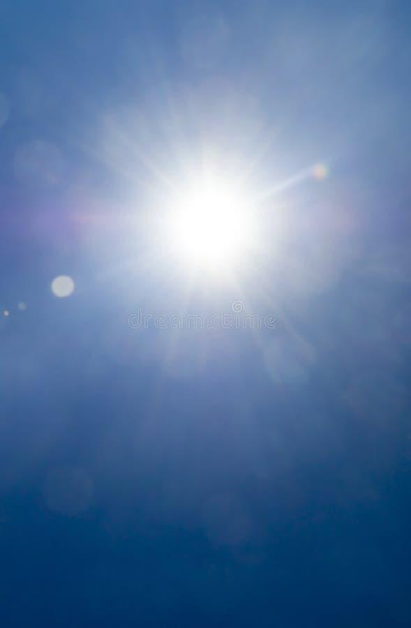 火光星期日 免版税库存照片
