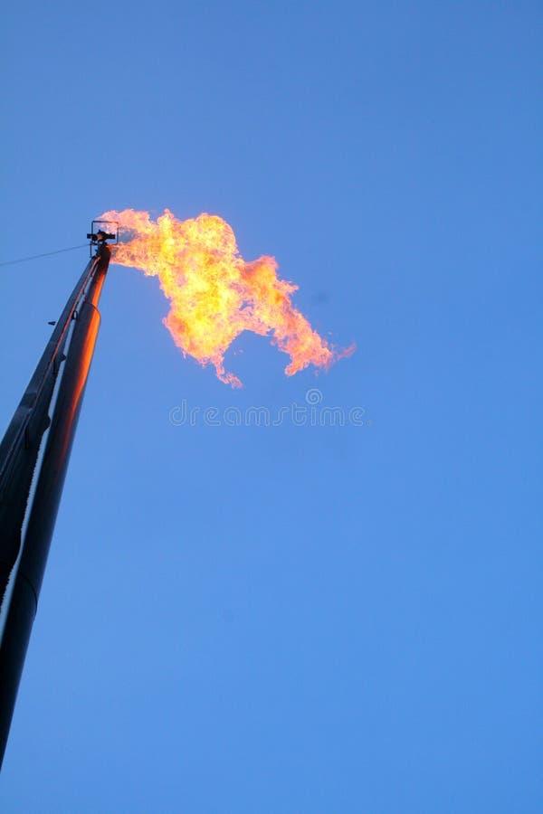 火光气体 库存照片