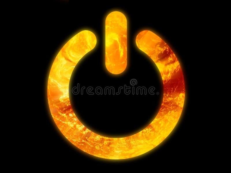 火力符号 向量例证