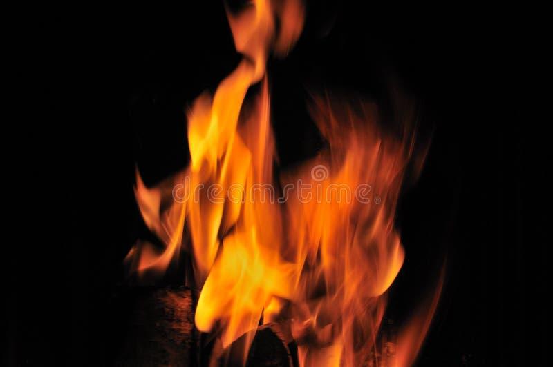 火发光的光 免版税库存照片