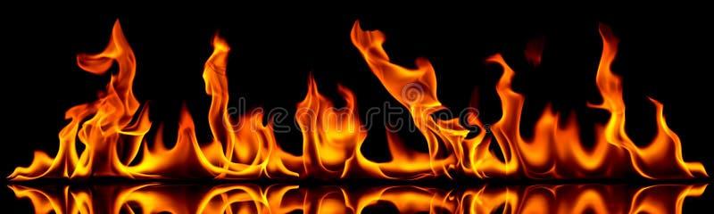 火和火焰。
