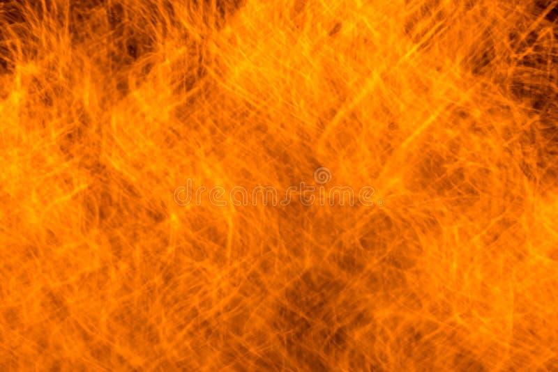 火在临近地区点燃 免版税库存照片