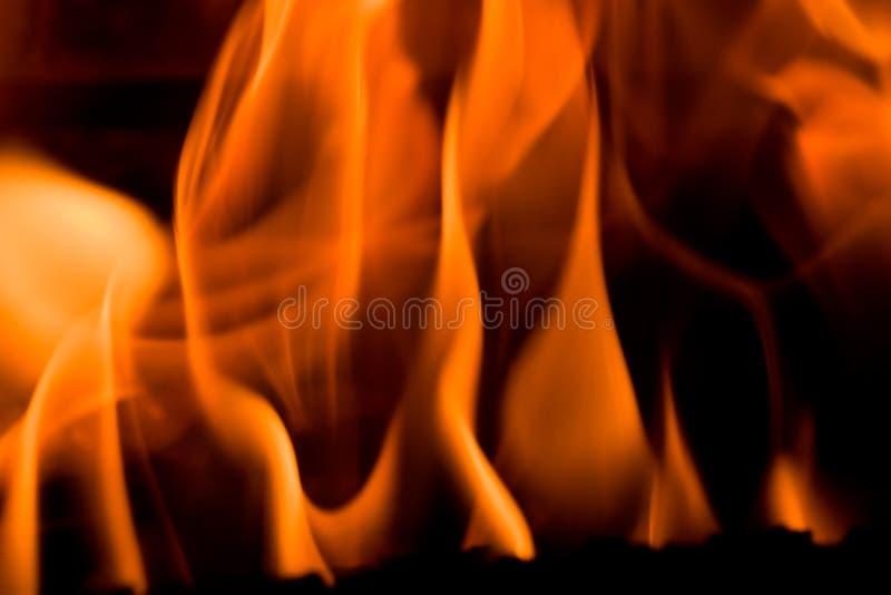 火壁炉 库存照片