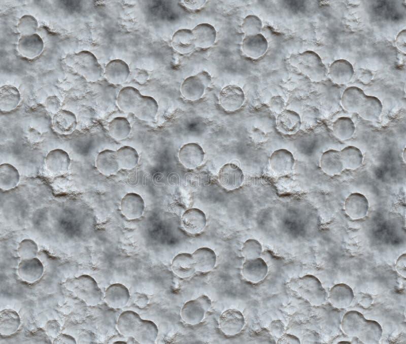 火山口月亮表面 库存照片