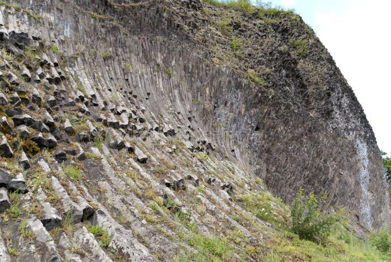 火山帕尔克斯泰因在德国 库存照片