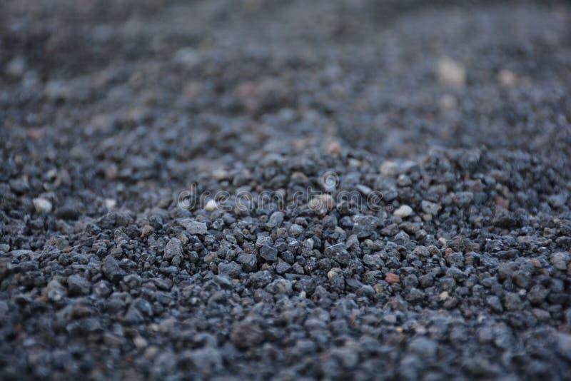 火山的沙子 库存照片