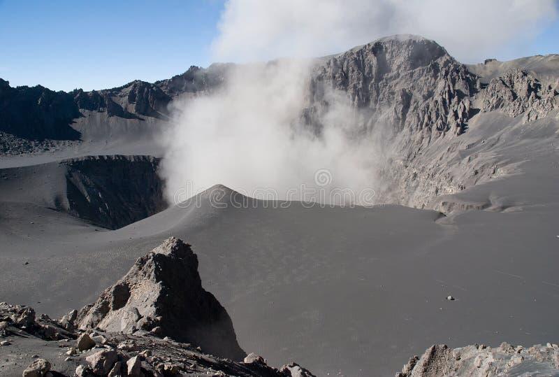 火山Ubinas 图库摄影
