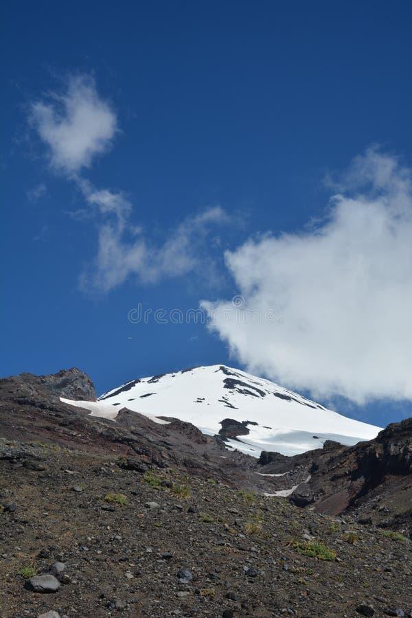 火山Villarica 图库摄影