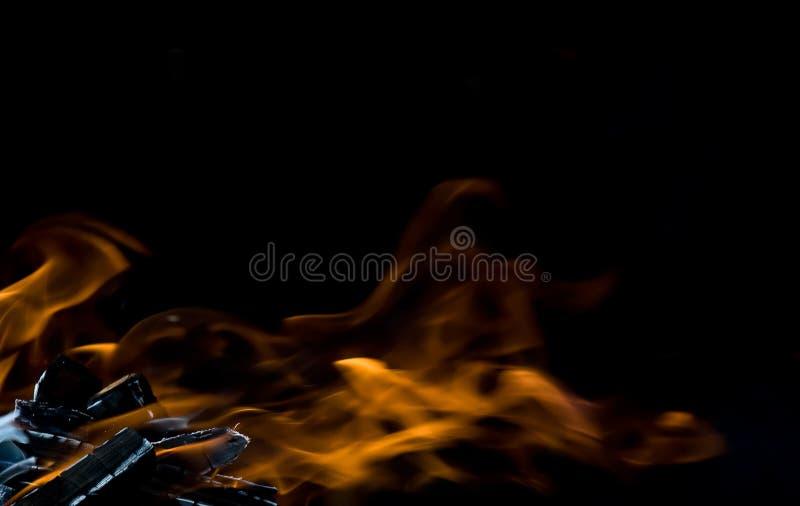 火摘要 库存照片