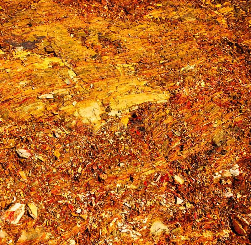 火星的土壤,火星,火星的风景 图库摄影