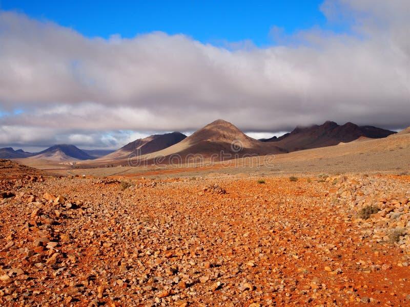 火星的风景 库存图片