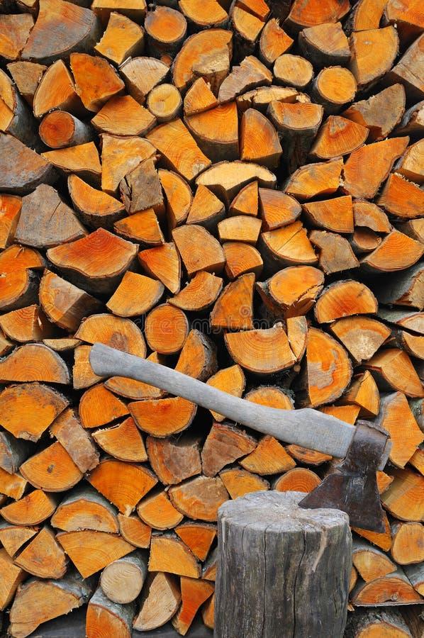 火木头 免版税库存图片