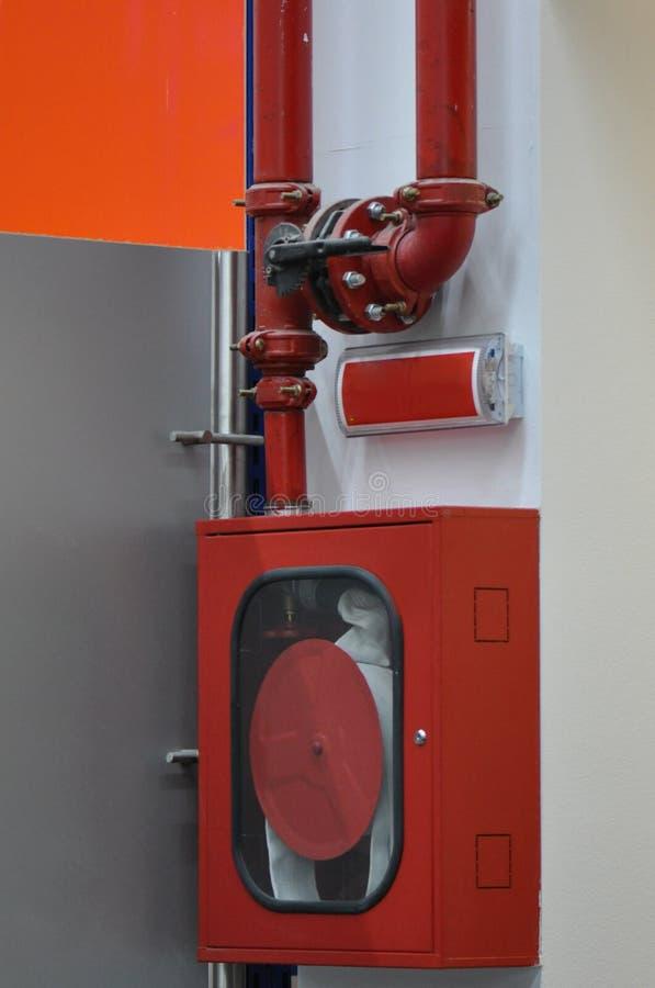 火水消防栓 库存照片