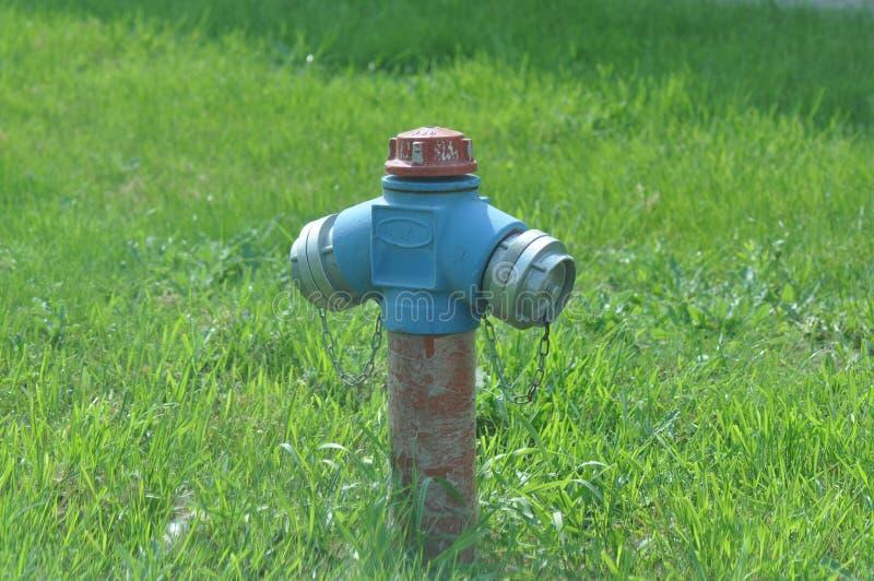 火水消防栓 免版税库存图片