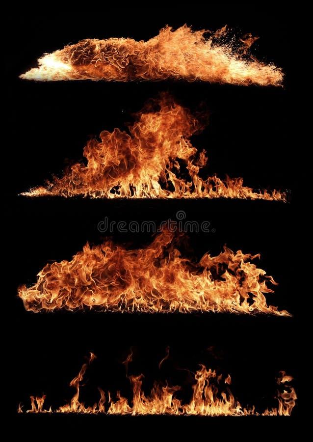 火汇集 免版税库存照片