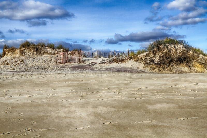 火海岛 库存图片