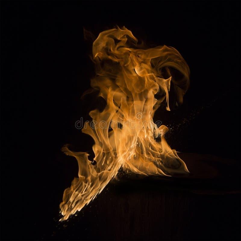 火火焰2 库存照片
