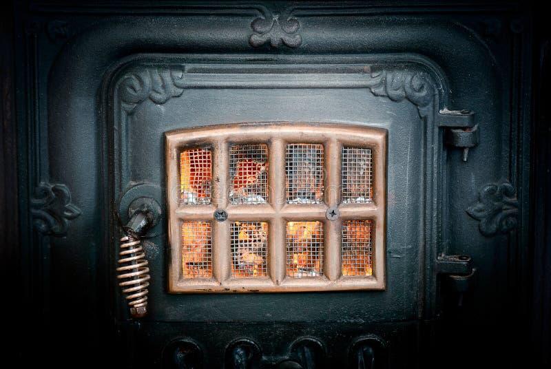 火炉葡萄酒 库存图片