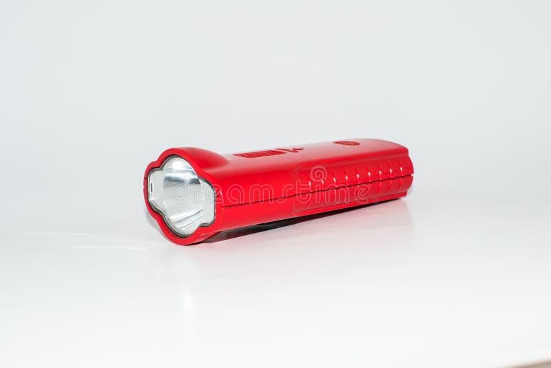 火炬或LED一刹那轻的火炬隔绝了 免版税库存图片