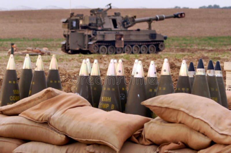 火炮军团-以色列 免版税库存照片