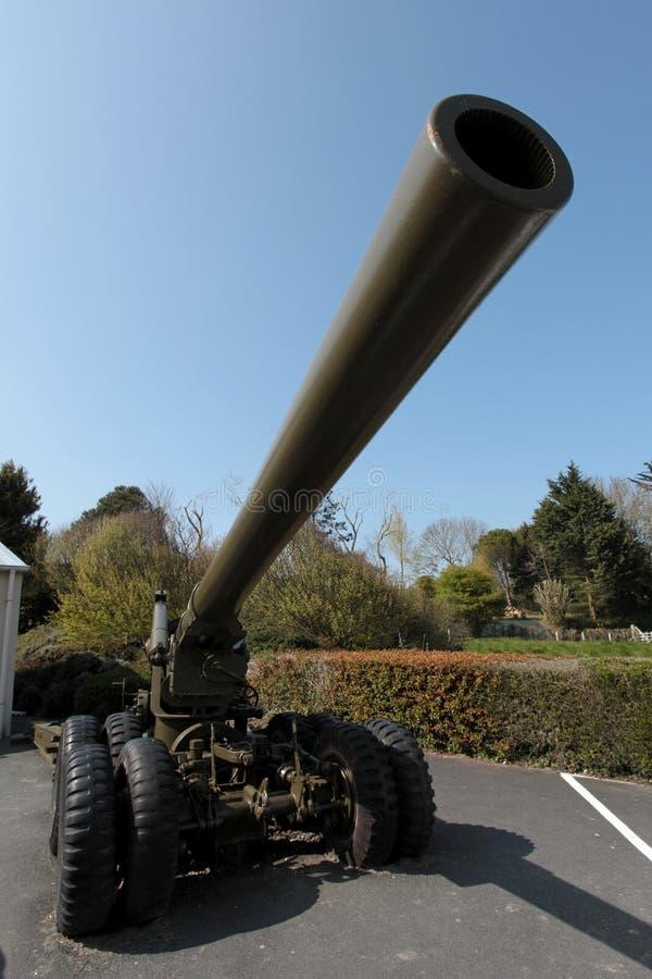 火炮战争 库存图片