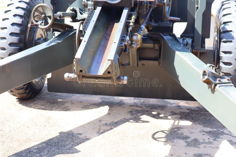 火炮是有桶宽度军队的一个火器 图库摄影