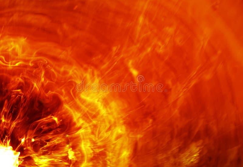 火热展开 皇族释放例证