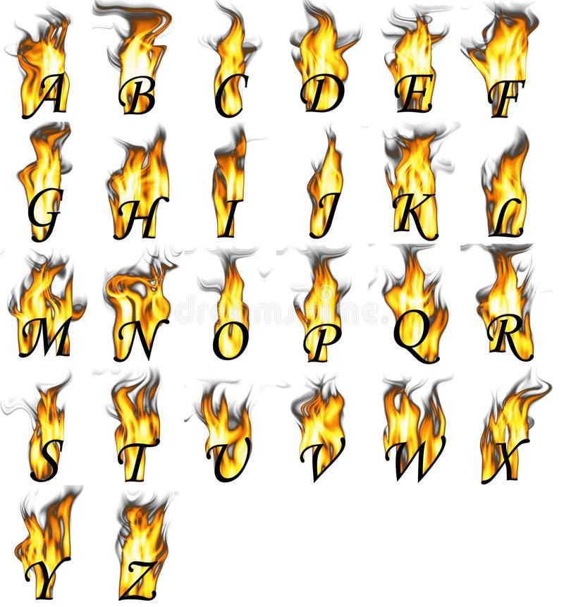 火热的信函 库存例证