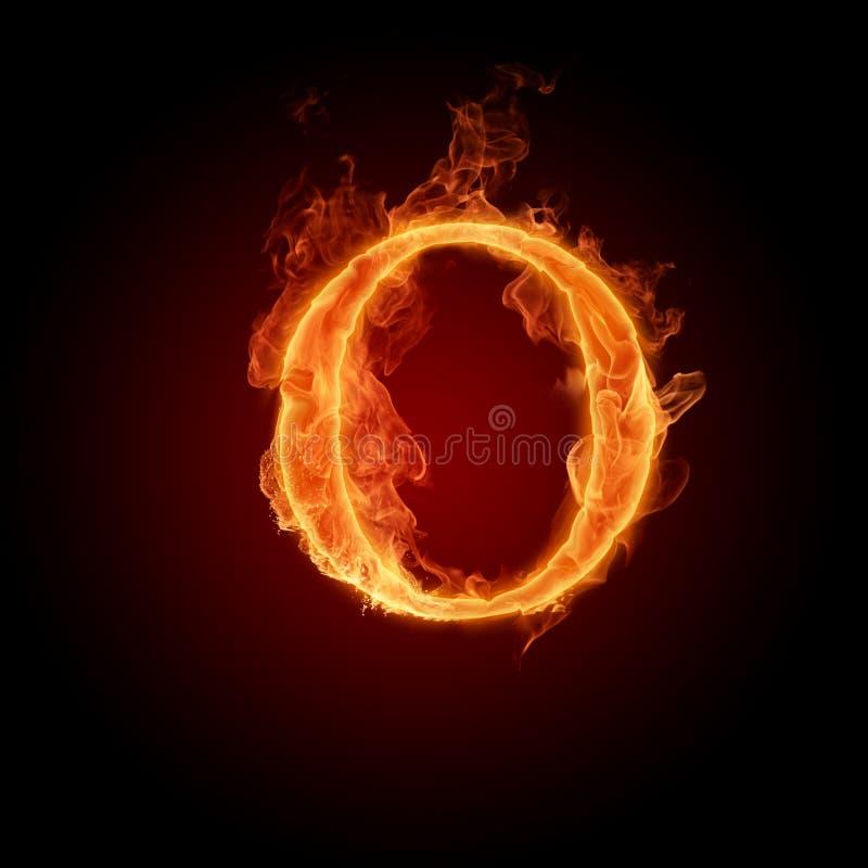 火热的字体 皇族释放例证