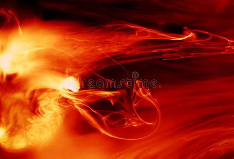 火热背景 皇族释放例证