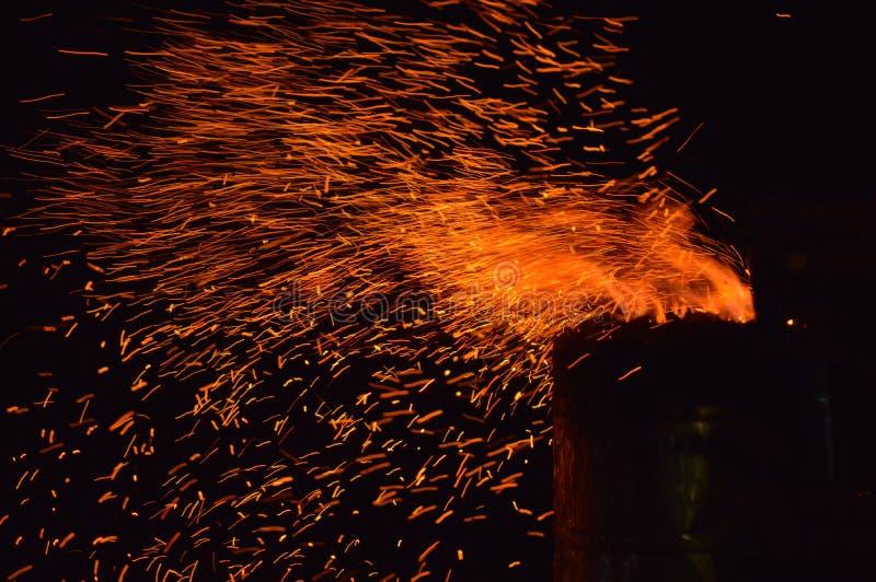 火热 图库摄影