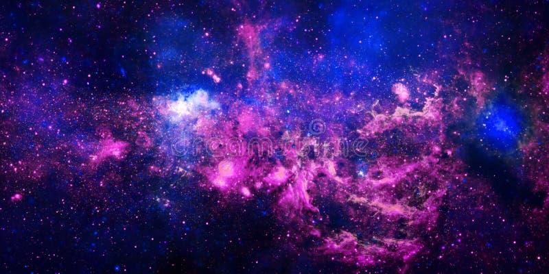 火焰状星云星形 库存例证