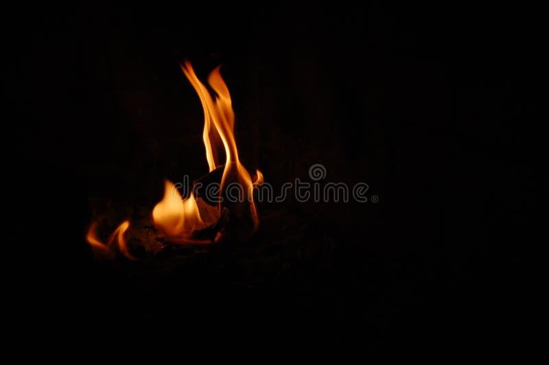 火焰状纸张 免版税库存照片
