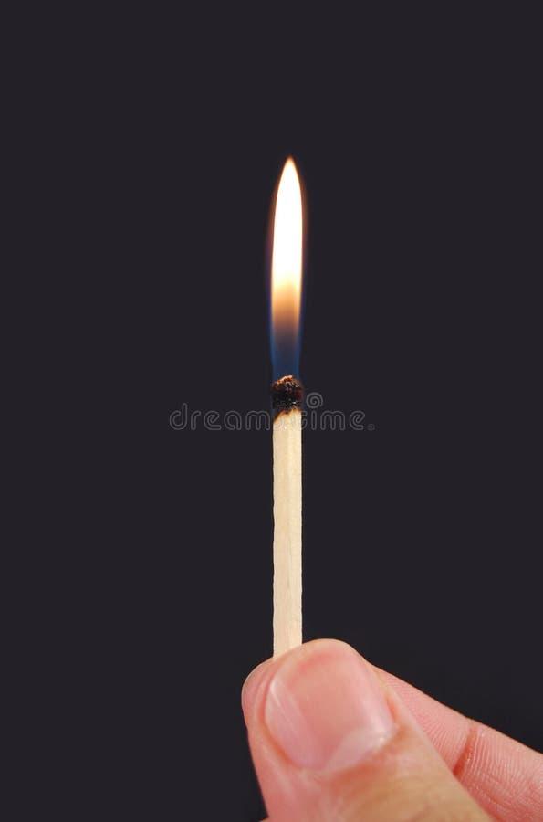 火焰符合 库存图片
