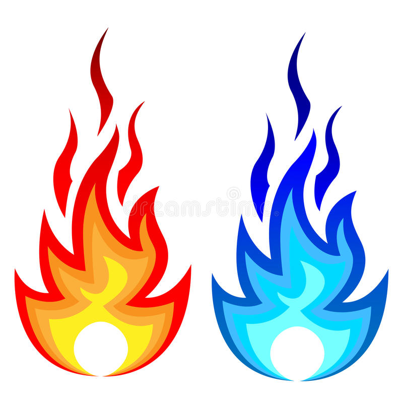 火焰 向量例证