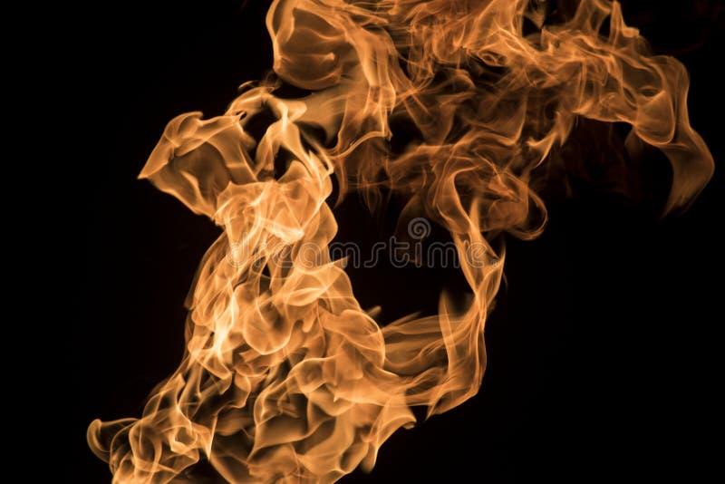 3火焰 免版税库存照片