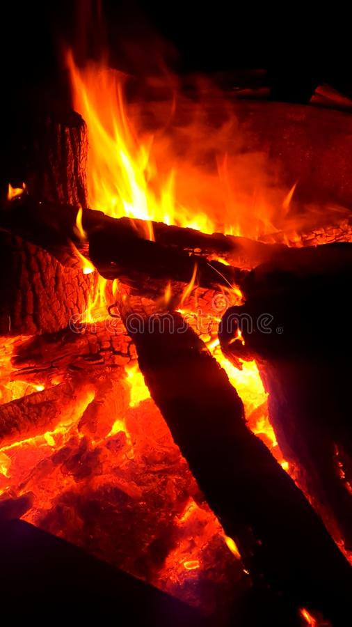火熔岩 免版税库存图片