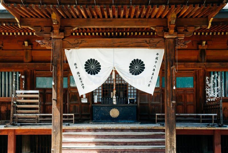 火田国分寺市老佛教寺庙在鹰谷老伊多区  图库摄影
