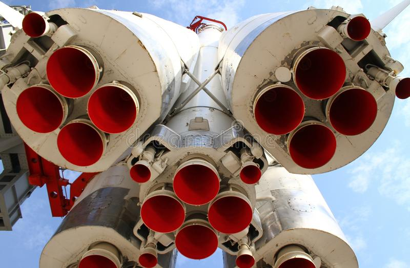 火箭喷管 图库摄影