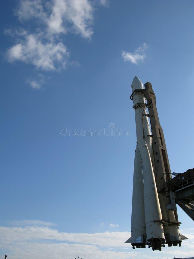 火箭太空飞船 免版税图库摄影