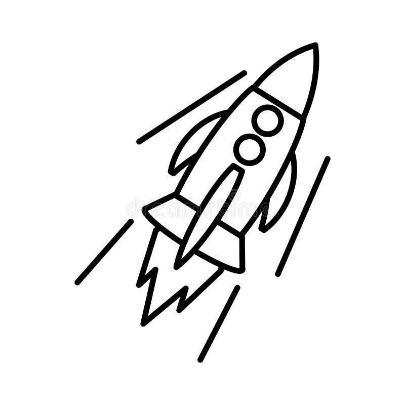 火箭队开始象 向量例证