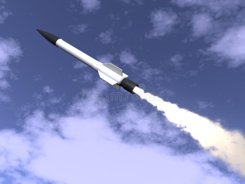 火箭 皇族释放例证