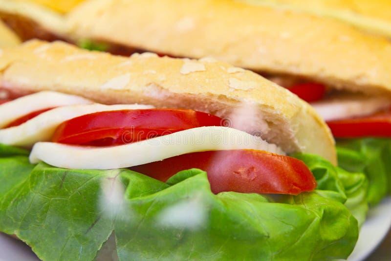 火腿和乳酪Toastie - 免版税库存图片