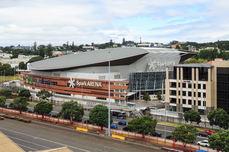 火花竞技场,奥克兰,新西兰 库存图片