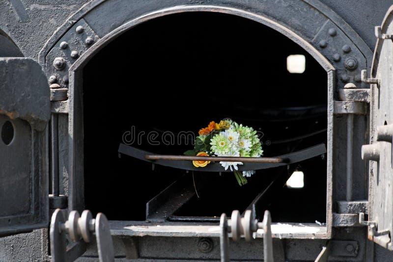 火葬场熔炉 库存图片