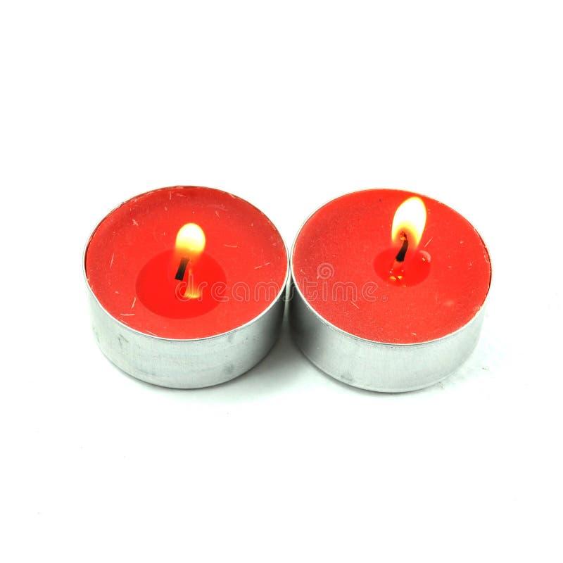 火蜡烛 免版税库存图片