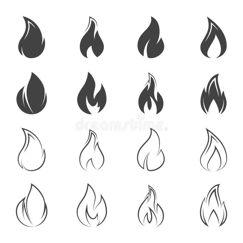 火象 向量例证