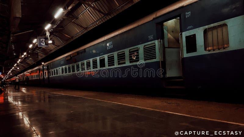 火车印地安人铁路 库存照片