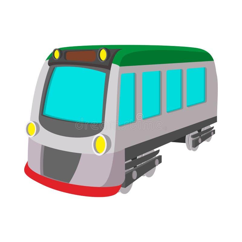 火车活动运输铁路象 库存例证