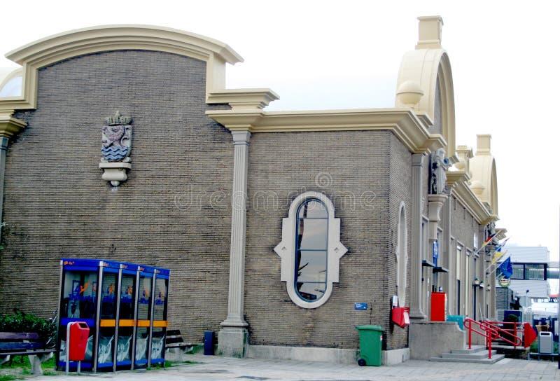 火车站外部 免版税库存图片